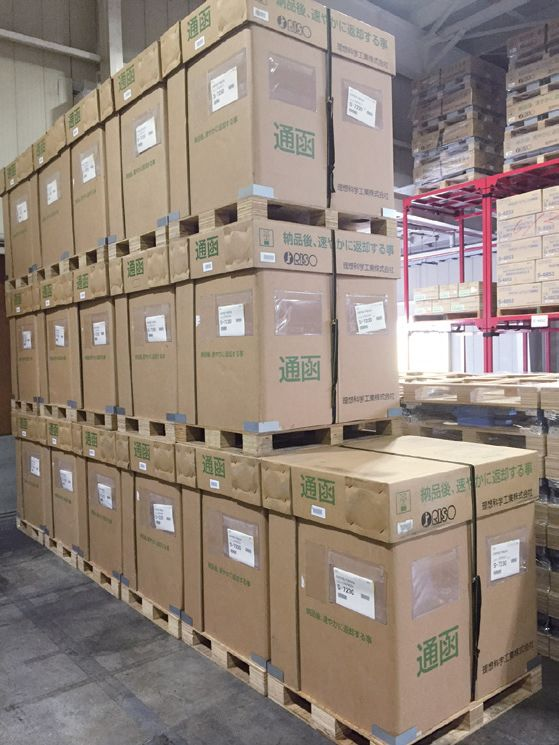 Returnable pallets