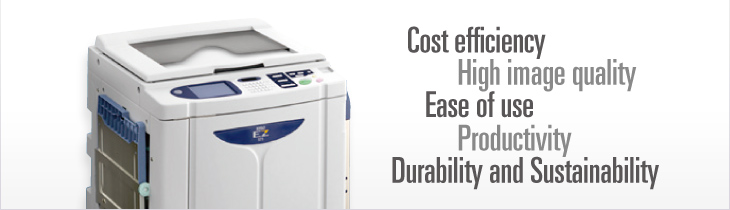 EZ 5 series: Digital Duplicator | RISO